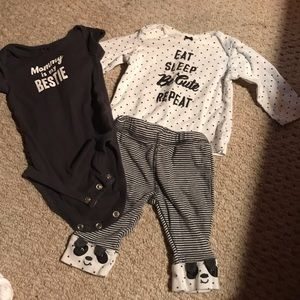 Carters 3 month size set